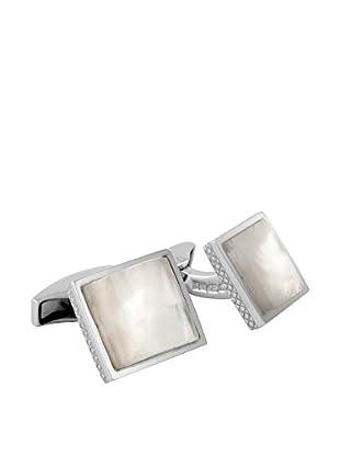 Tateossian Manschettenknopf CL5603 Sterling-Silber 925