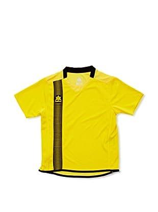 Luanvi Camiseta Manga Corta River (Amarillo / Negro)