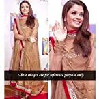 Bollywood Replica Aishwarya Rai Net Anarkali Suit In Brown Colour NC262
