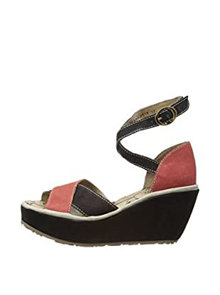 Fly London Sandalias Pami (Rojo)