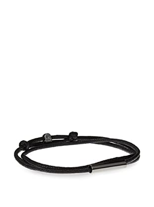 Griffin Black Gunmetal Easton Convertible Triple Wrap Bracelet