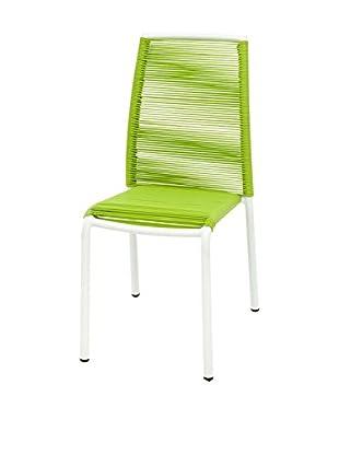 Contemporary Living Stuhl 2er Set Kely grün