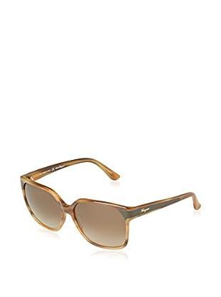 Ferragamo Sonnenbrille 622SL_260 (58 mm) braun