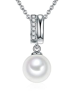 Pearls of London Halskette  weiß