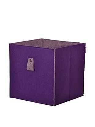 Leonardo Aufbewahrungsbox violett