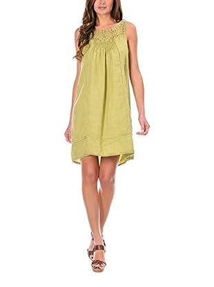100% lino Kleid Sandy