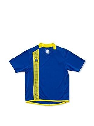 Luanvi Camiseta Manga Corta River (Azul / Amarillo)