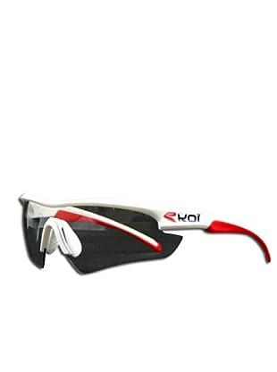 Ekoi Gafas Multristrato (blanco/rojo)