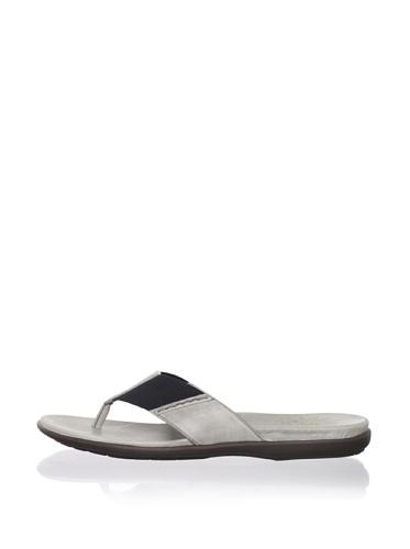 John Varvatos Star USA Men's Tobago Chelsea Sandal (Nickel Grey)