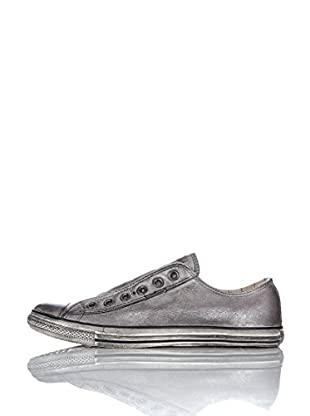 Converse Zapatillas A / S Varvatos Leather Lp Slip (Plata)