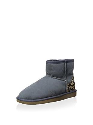 Pegia Women's Classic Mini Boot with Leopard