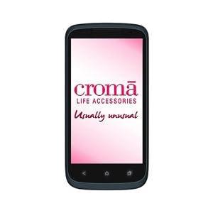 Croma CRCB2093 GSM Mobile Phone (Dual SIM) (Grey)