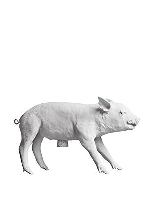 Areaware Bank Pig, White