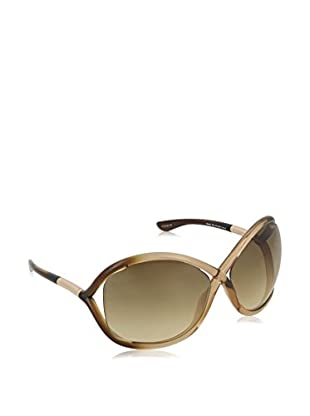 TOM FORD Occhiali da sole FT0009_74F (64 mm) Tortora