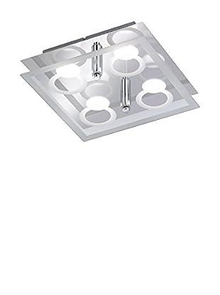 WOFI Lámpara De Techo LED Mira cromo