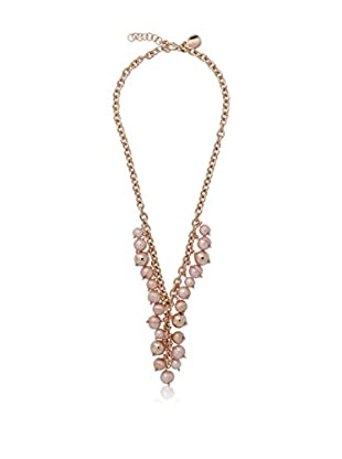 Perlaviva Halskette  vergoldete Bronze 18 Karat