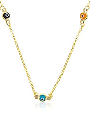 Cordoba Jewelles Gargantilla plata de ley 925 milésimas bañada en oro