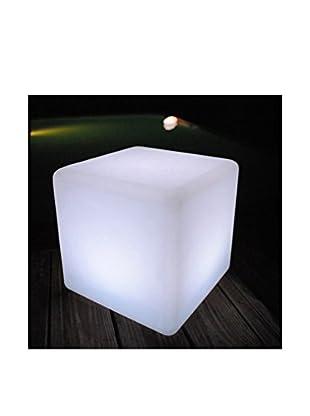 Artkalia Kubbia Wireless LED Table/Seat, White Opaque