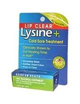 Lip Clear Lysine+ Cold Sore Ointment, 0.2333 oz by Quantum Research