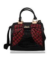 Esbeda Pu Synthetic Ladies Hand Bag - 6109 (Red)