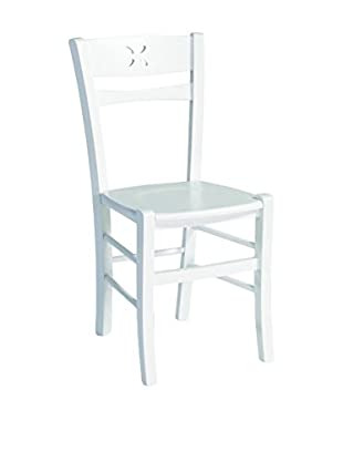 Special tables & Chairs Set Silla 2 Uds. Letizia Blanco