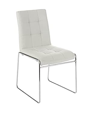 Contemporary Black & White Set Silla 2 Uds. Alice Blanco