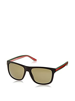 GUCCI Sonnenbrille 1118/S 1E M1A (57 mm) schwarz