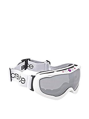 Black Crevice Skibrille weiß
