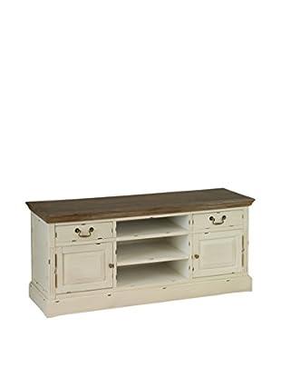 Colonial Style Fernsehmöbel Lauren beige/braun