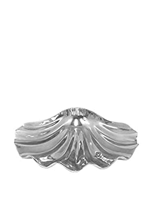 Three Hands Decorative Silver Shell Bowl