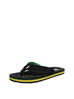 Reef Chanclas Surfers Are Friends (Multicolor Rasta)