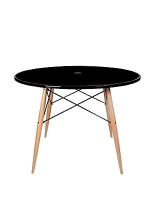 Lo+deModa Tisch Tower schwarz