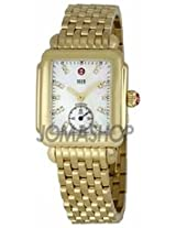 Michele Deco 16 Ladies Mother Of Pearl Dial With Diamond Watch Mww06V000004