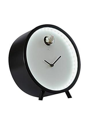 Diamantini & Domeniconi Reloj De Mesa Plex Negro
