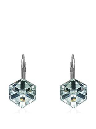 Silverino Pendientes Cube Classic