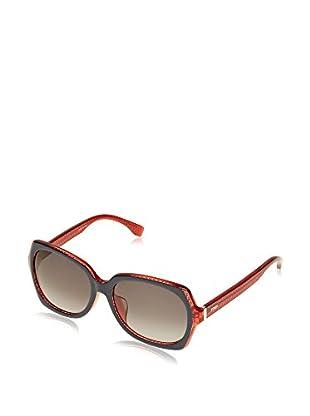 Fendi Occhiali da sole 0002/F/S_7PP (54 mm) Nero/Rosso
