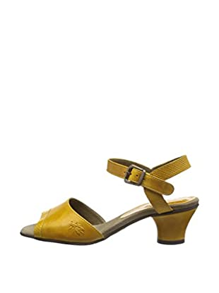 Fly London Sandalias Trud (Mostaza)