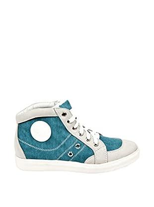 Destroy Zapatillas Abotinadas (Azul Denim)