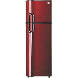 Godrej 340L 4 Star GFE 36 CVT5N Double Door Refrigerator-Shell Wine Red