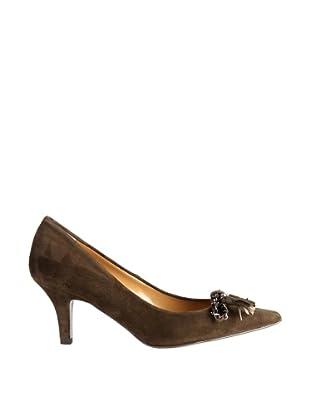 Paco Herrero Zapatos Con Borlas (Caqui)