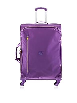 Delsey Trolley semirrígido Solution Púrpura 76 cm