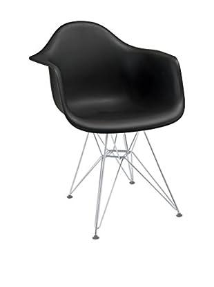 Modway Paris Dining Arm Chair (Black)