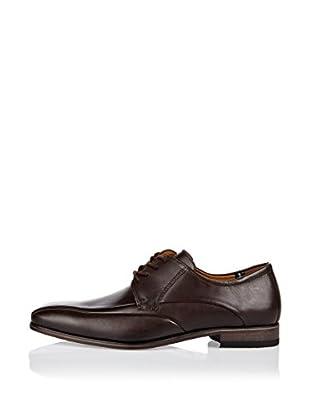 Fretz Men Zapatos Derby Kingston (Marrón)