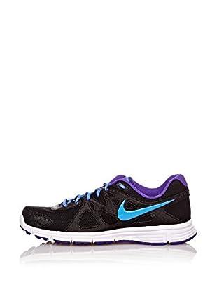 Nike Zapatillas Wmns Revolutions 2 Msl (Negro / Azul)
