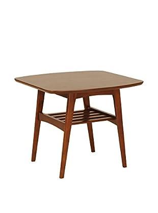 Eurostyle Carmela Side Table, Walnut