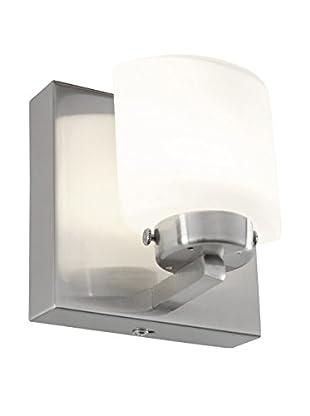 Alternating Current Clean 1-Light LED Bath, Satin Nickel