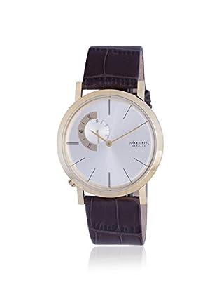 Johan Eric Men's JE1500-14-016 Randers Brown/Silver Leather Watch