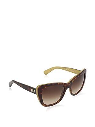 Dolce & Gabbana Sonnenbrille 4260 295613 (54 mm) havanna/goldfarben