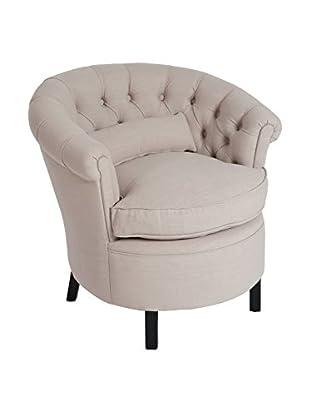 J-LINE Sessel beige