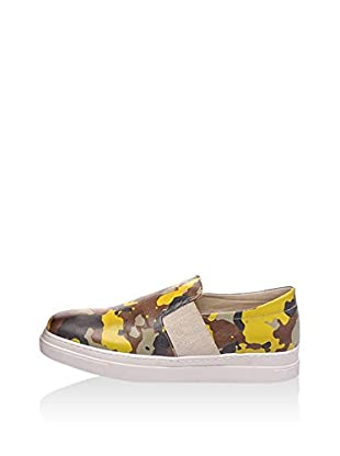 Los Ojo Slip-On Yellow Camo